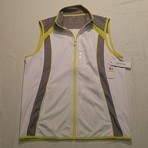 Calvin Klein Vest Track Jacket Colorblock